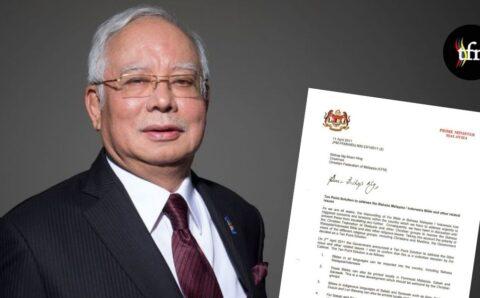 Kalimah ALLAH : Keputusan Mahkamah Didorong Oleh Keputusan Kabinet BN, Surat Najib Razak kepada Pengerusi CFM